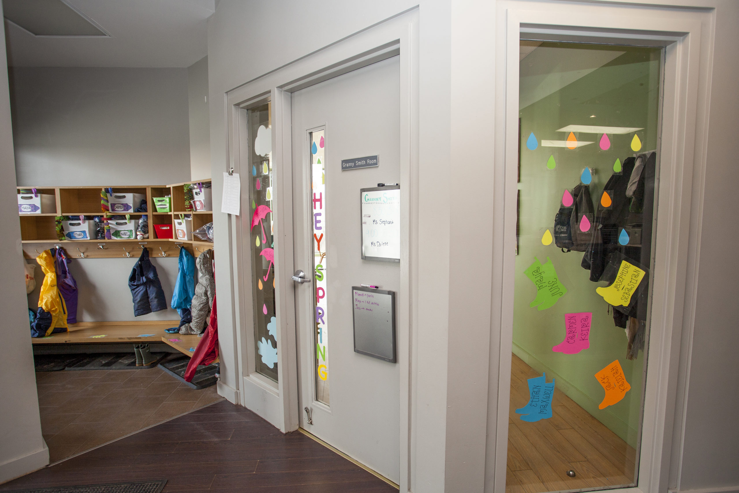 doorway to Granny Smith Toddler room