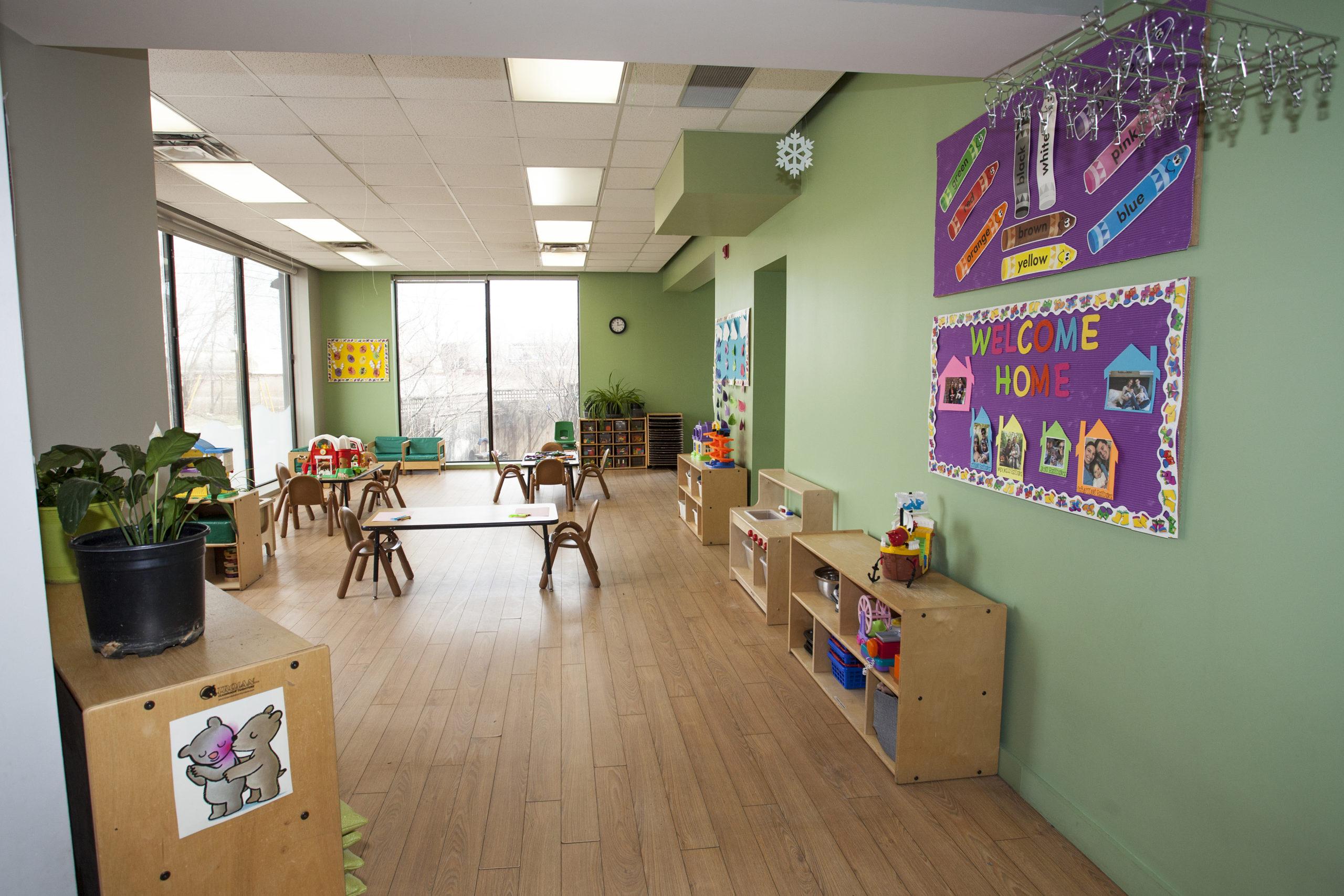 toddler school room