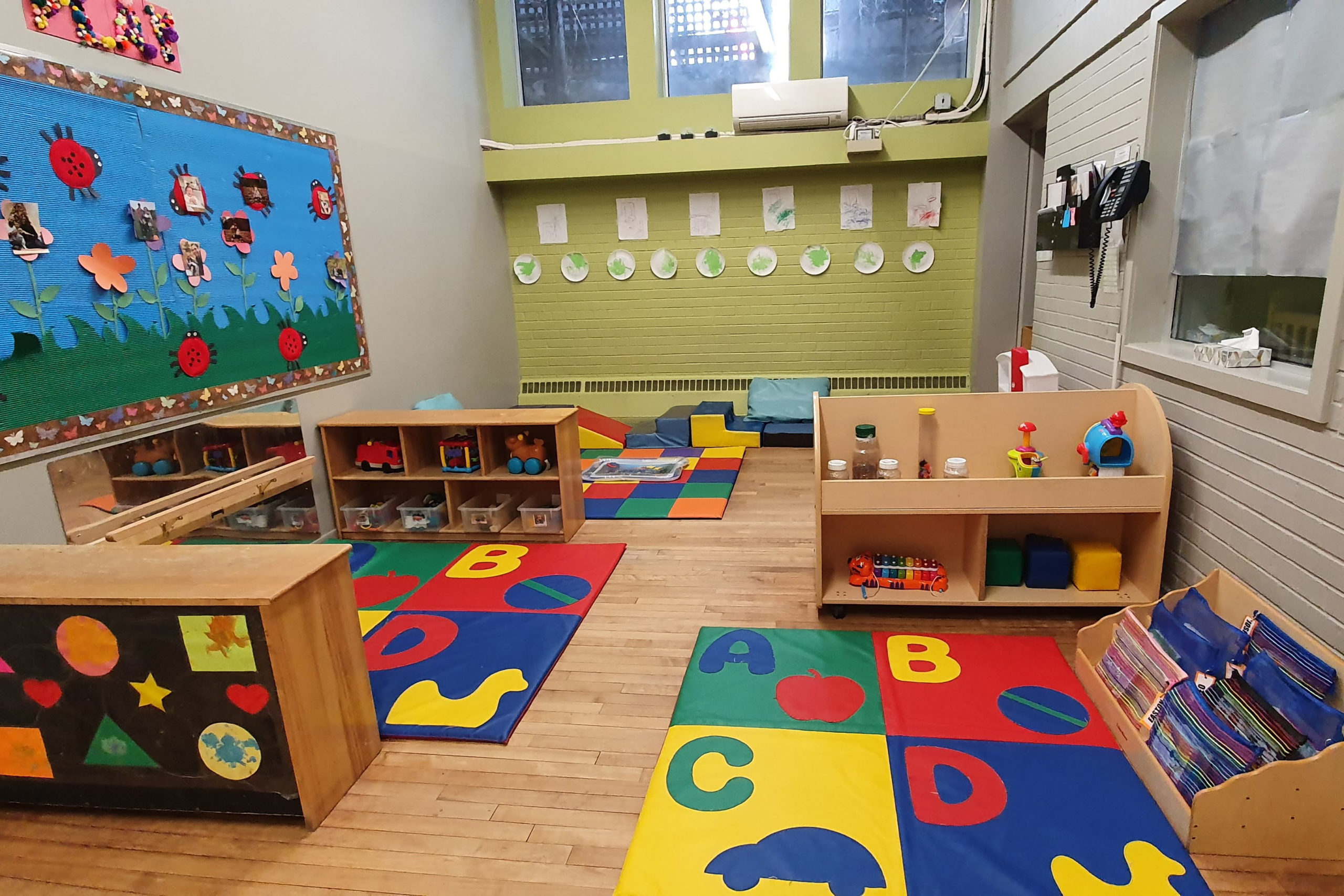 play area for infants