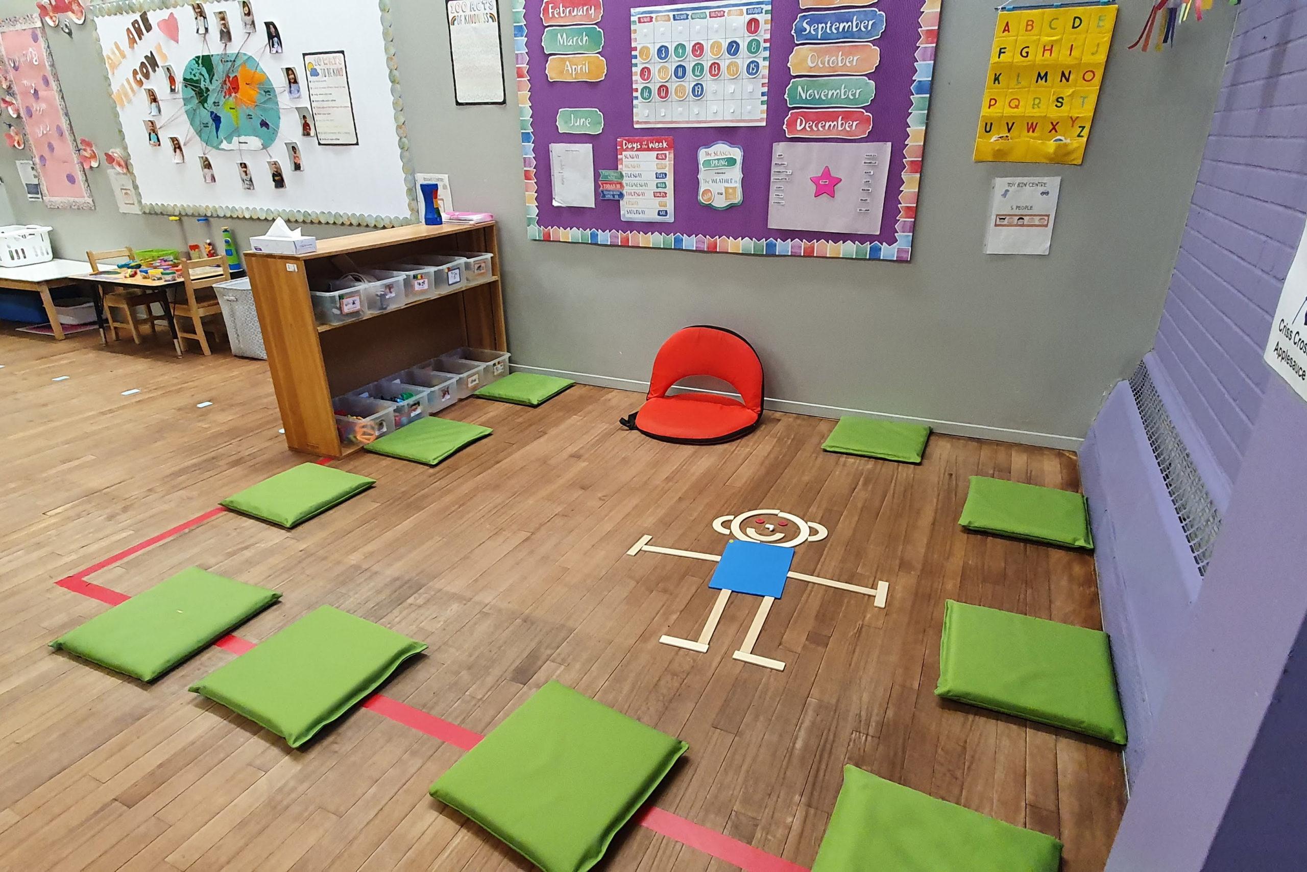 play area for preschoolers